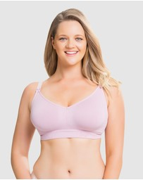 Cake Maternity - Sugar Candy Wireless Fuller Bust Seamless Maternity & Nursing Bra (for F+ Cups)
