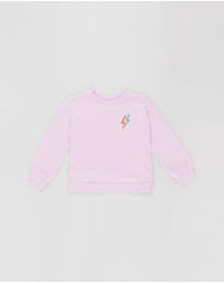 GapKids - Embroidered Graphic Sweatshirt - Teens