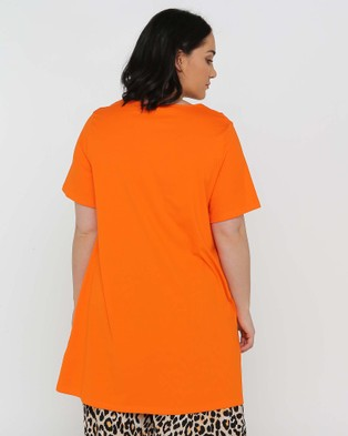 Advocado Plus Oxford Tee - T-Shirts & Singlets (Clementine)