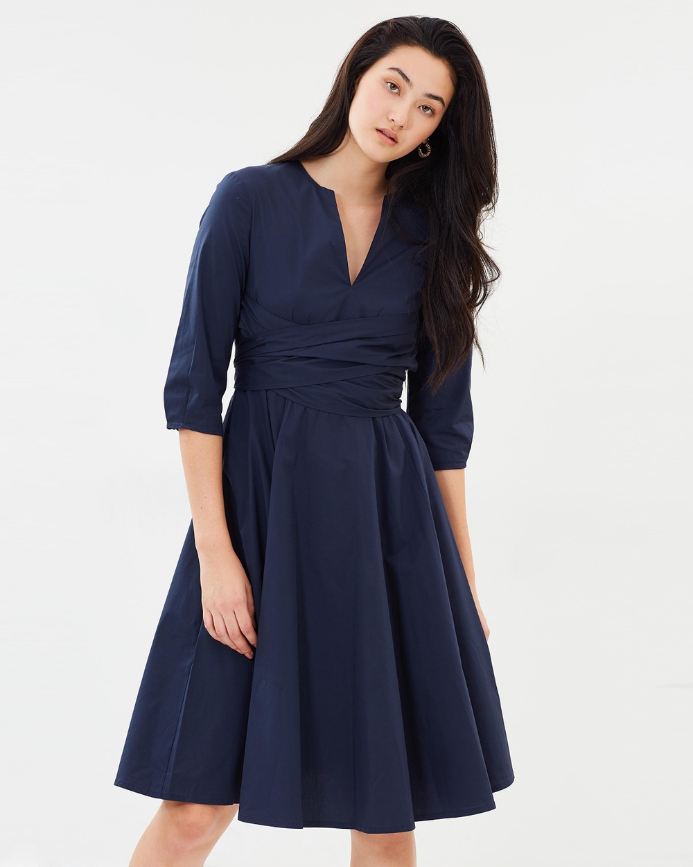 MAX & Co. Delicato Dress Dresses Dark Grey Delicato Dress