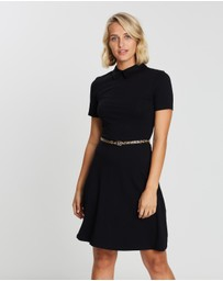 Dorothy Perkins - Collared Fit and Flare Dress