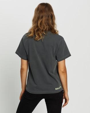 Rolla's MTV Glow Logo Tee - T-Shirts & Singlets (Dark Grey)