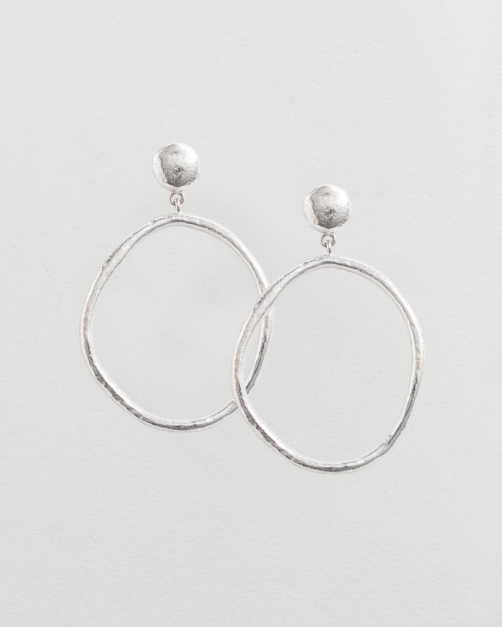 Kirstin Ash Golden Light Earrings Jewellery Silver