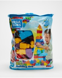 Mega Bloks - 80-Piece Big Building Bag
