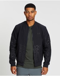 Under Armour - Unstoppable Emboss Bomber Jacket