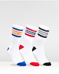 Dickies - Madison Heights 3-Pack Socks