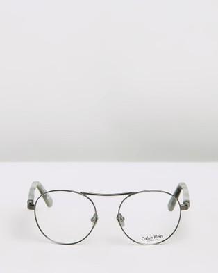 Calvin Klein CK8046 Glasses - Optical (Titanium)