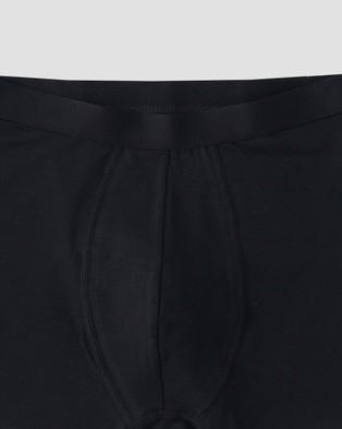 Organic Basics 2 Pack Silvertech Everyday Boxers - Underwear & Socks (Black)