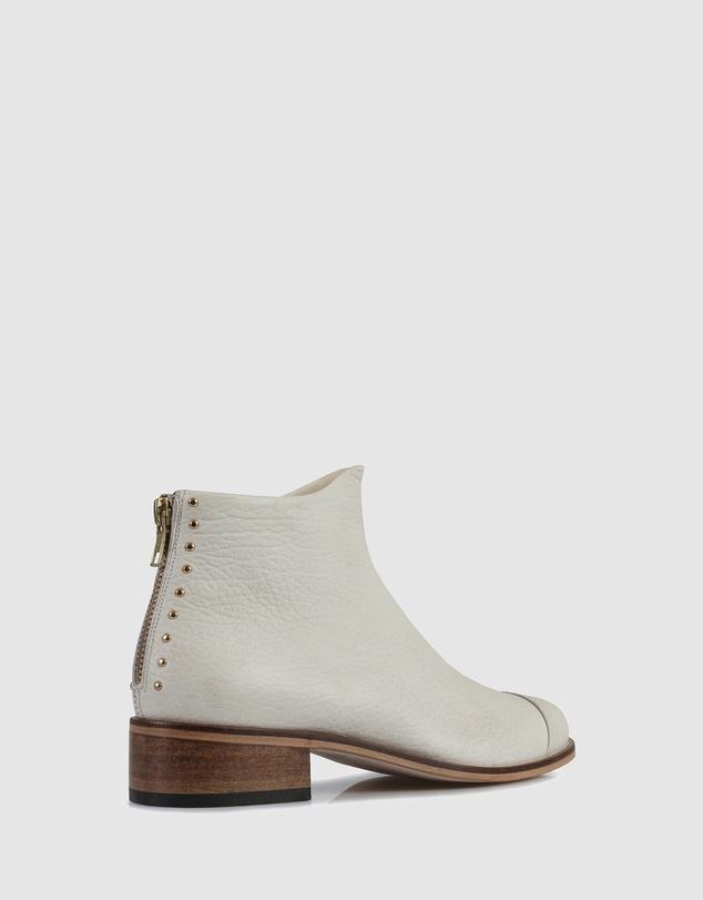 Women Beau5 Montone Ankle Boots