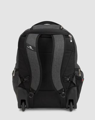 High Sierra Endeavour Wheeled Laptop Backpack - Bags (Heather Grey)