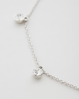 Mestige Alina Anklet Jewellery Silver