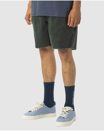 Barney Cools - B.Relaxed Short Bottle Green Corduroy
