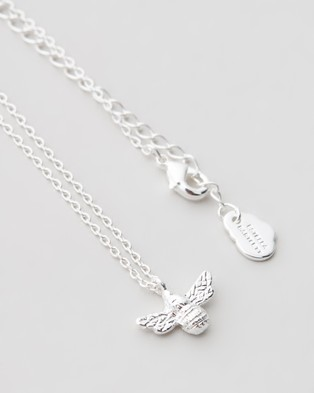 Estella Bartlett Bee Necklace - Jewellery (Silver Plated)