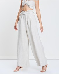 Bec & Bridge - Silver Palms Pants