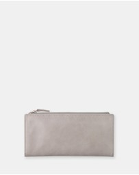 Status Anxiety - Dakota - Light Grey Wallet