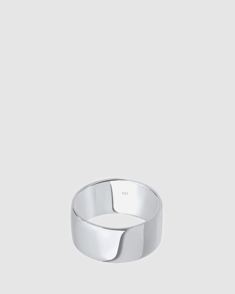 Elli Jewelry Ring Basic Stacking Smooth Surface 925 Sterling Silver Jewellery Silver