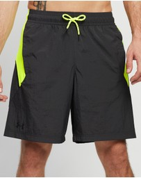Under Armour - Woven Colorblock Training Shorts