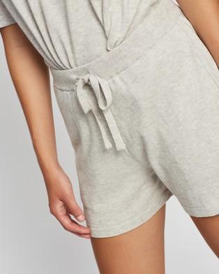 Assembly Label Cotton Cashmere Lounge Shorts Grey