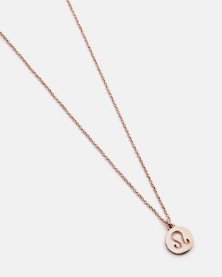Dear Addison Leo Necklace Jewellery Gold