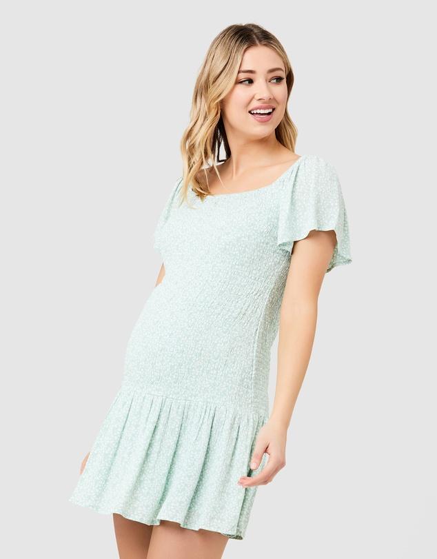 Women Betsie Shirred Dress