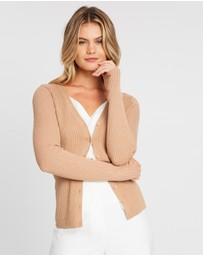Dorothy Perkins - Fitted Rib Cardigan
