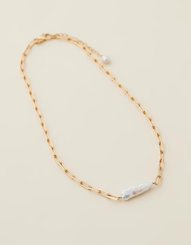 Women Luna Pearl Necklace