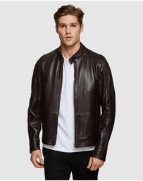 Oxford - Bradley Leather Jacket