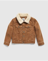 Academy Rookie - Cord Trucker Jacket - Kids