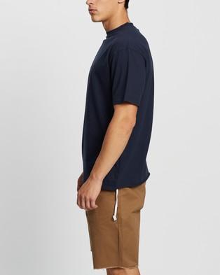 Commune Comm Tee - T-Shirts & Singlets (Navy)