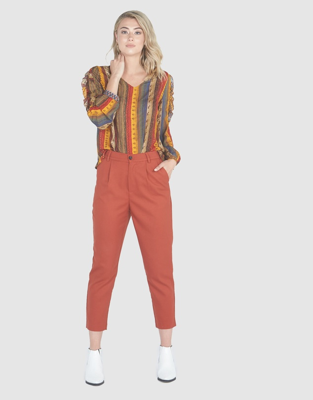 Women Elise Relaxed Tapered Pants