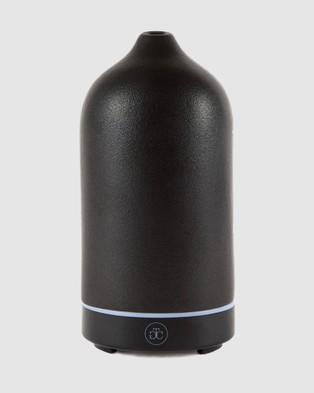 The Goodnight Co. Ceramic Essential Oil Diffuser - Diffusers (Black)
