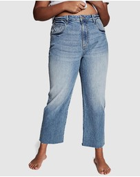 Cotton On Curve - Millie Straight Leg Jeans