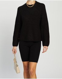 TOPSHOP - Knitted Popper Side Jumper