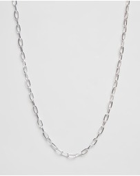 Icon Brand - Antique Oval Link Chain Necklace