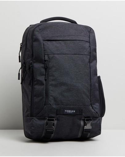 Timbuk2 Authority Laptop Backpack Jet Black Static