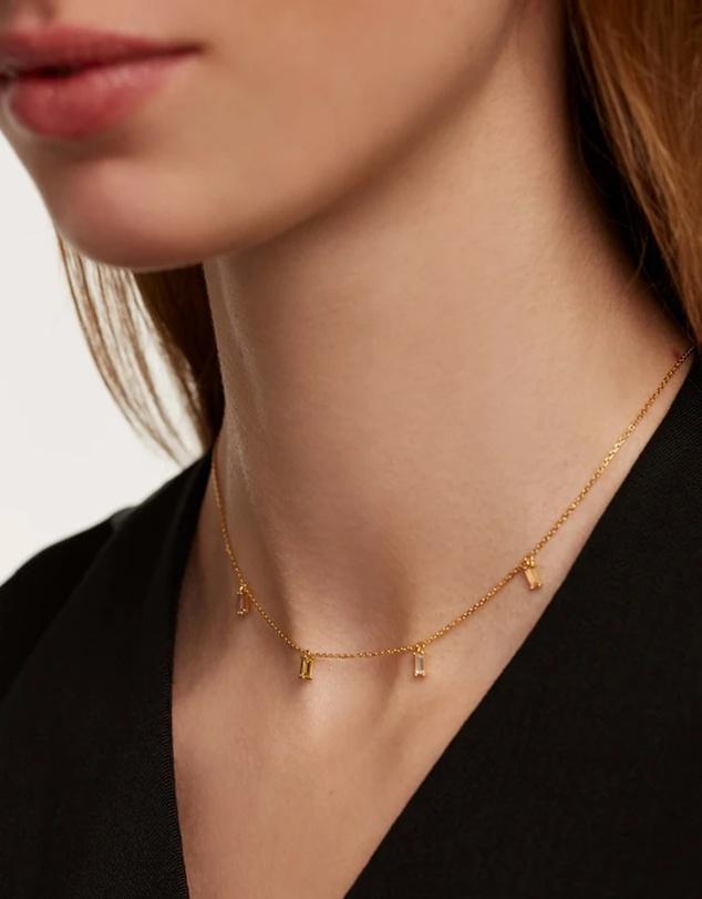 Women Elija Gold Necklace