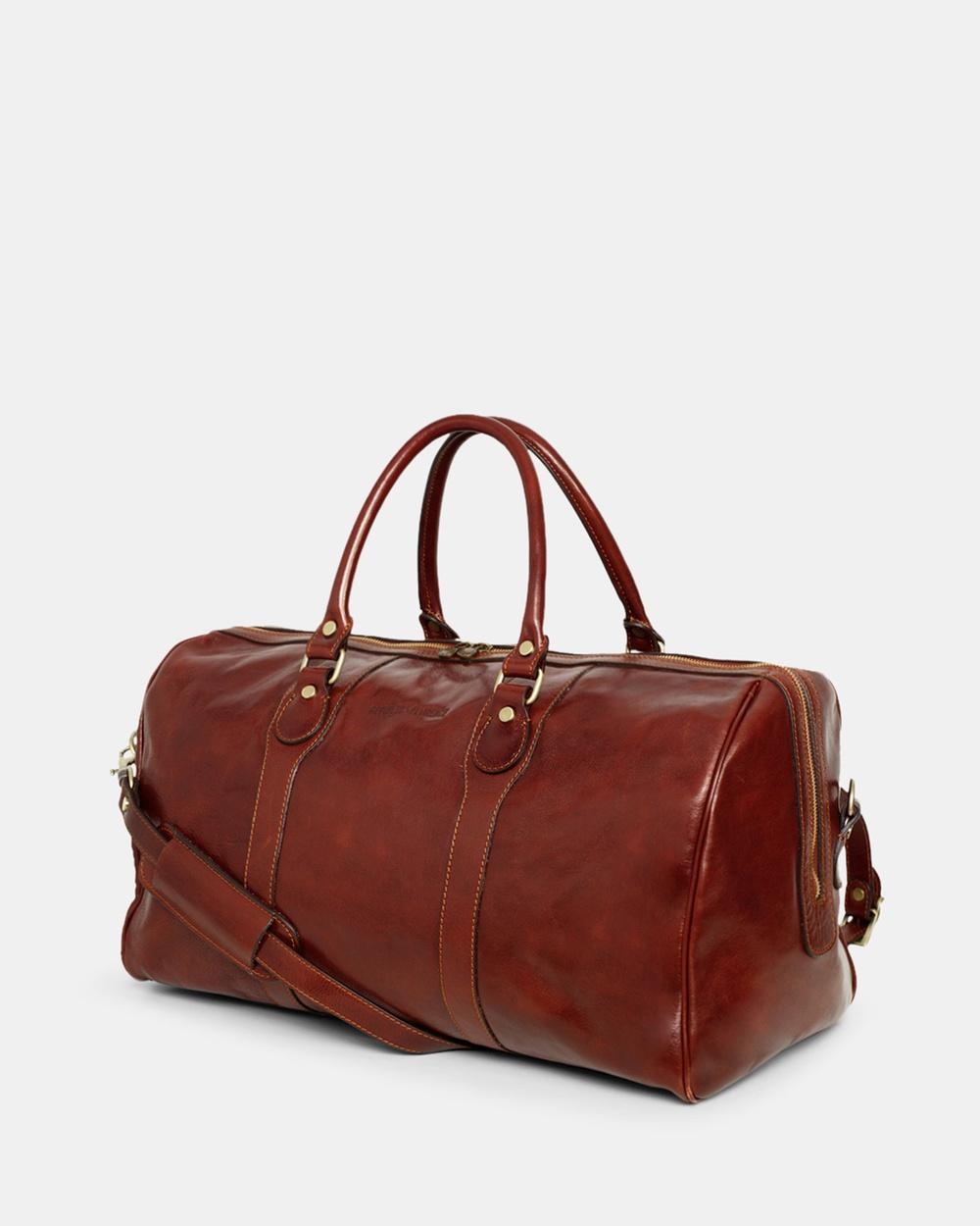 Republic of Florence Beltrami Weekender Duffle Bags Brown