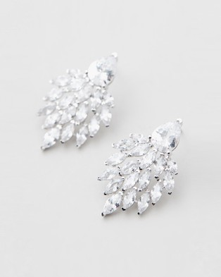 Stephanie Browne Rene Earrings - Jewellery (Rhodium)