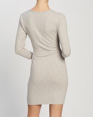 Atmos&Here Lana Mini Dress - Bodycon Dresses (Grey)