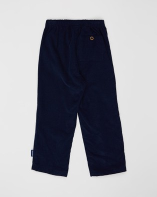 Pappe Ainslee Soft Cord Pants   Babies Kids - Pants (Navy)