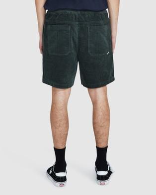 Spencer Project Kona Cord Shorts - Swimwear (GREEN)