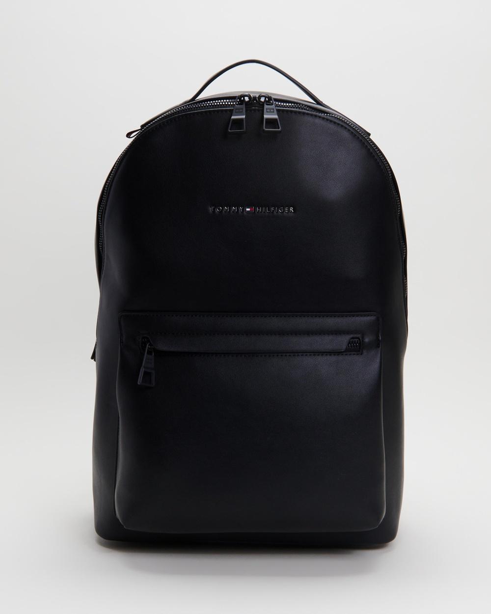 Tommy Hilfiger Metro Backpack Backpacks Black Australia