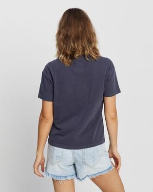 Rip Curl Search Logo Tee - T-Shirts & Singlets (Indigo)
