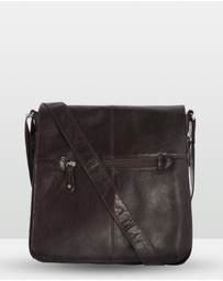 Cobb & Co - Alex Leather Satchel Large
