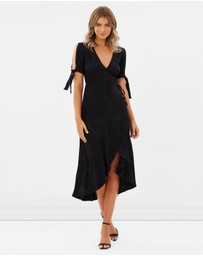Atmos&Here - Malta Midi Wrap Dress