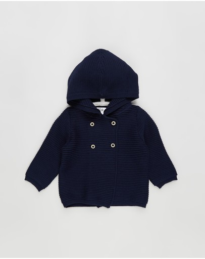 Bebe by Minihaha - Xander Hooded Cardigan - Babies