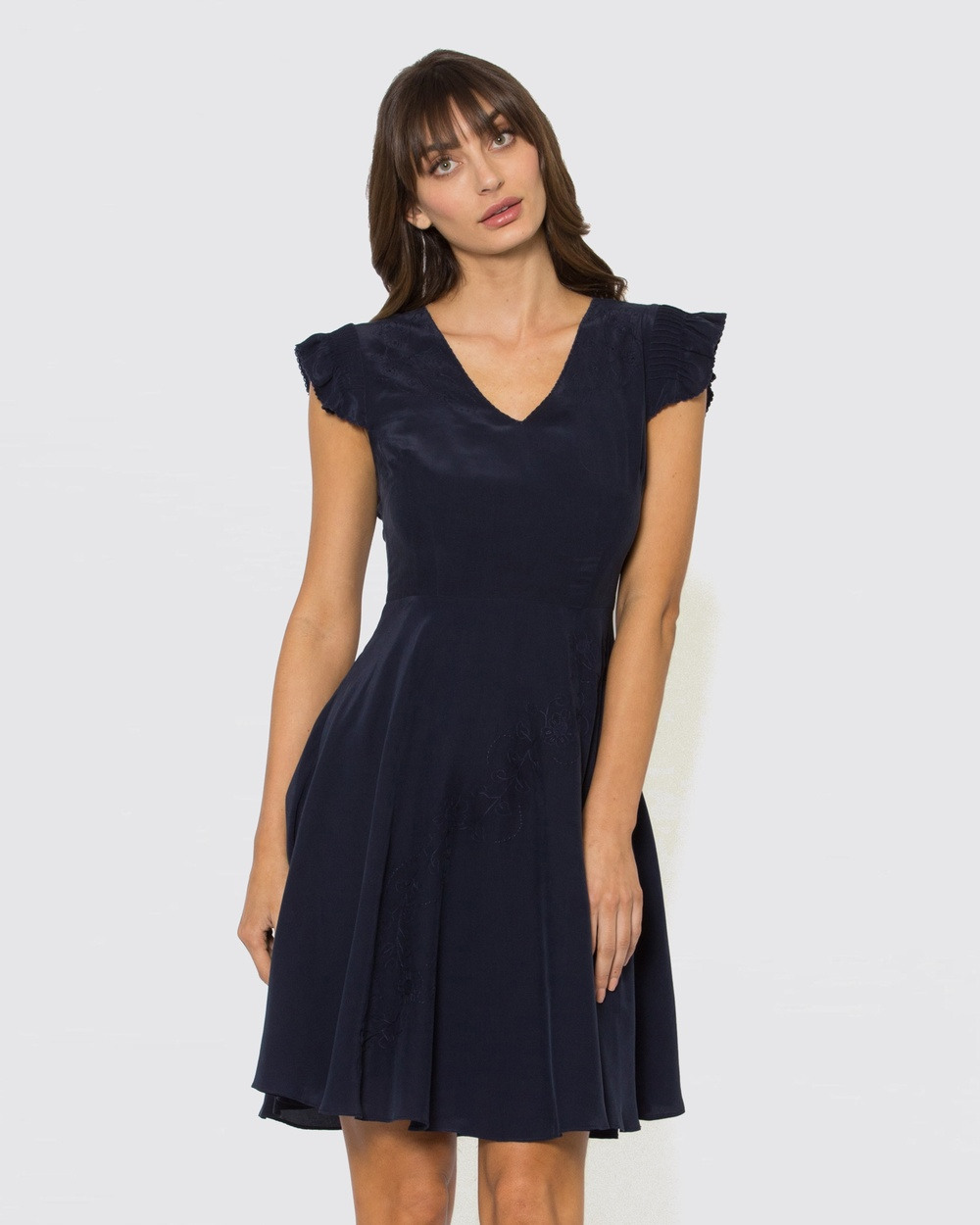 Alannah Hill Navy Cherry On Top Dress