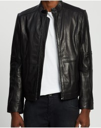 HUGO - Lancel Leather Jacket