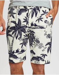 Scotch & Soda - Pleated Bermudas