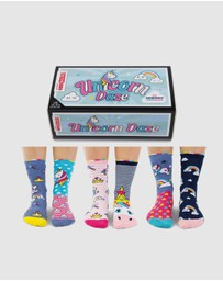 ODD SOCKS - Unicorn Daze Socks - Kids